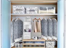 Come organizzare un armadio